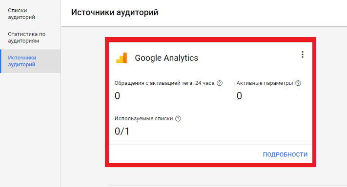 Свяжите AdWords с Analytics