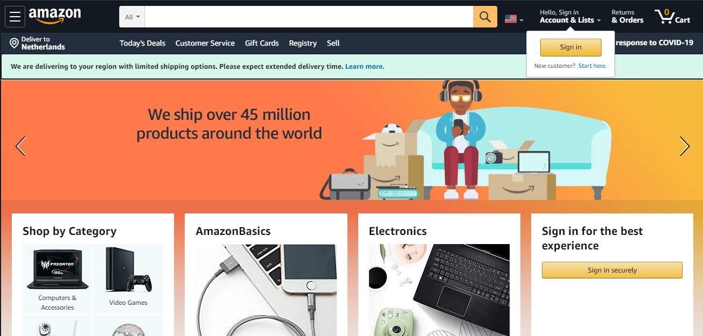 Торговая площадка Amazon